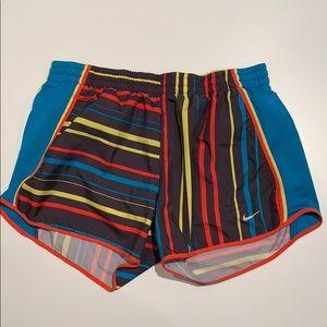 Striped Nike Dri-fit Shorts